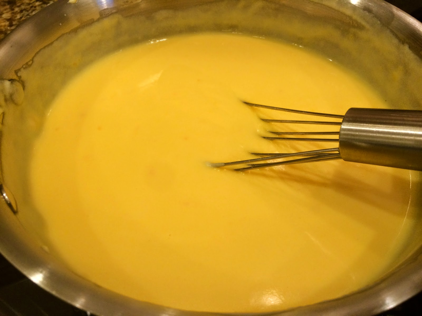 Simple Cheese Sauce from Food Therapy