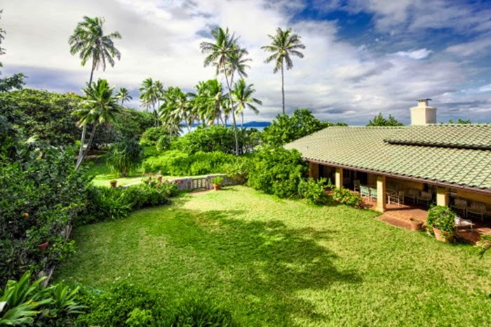 Casa fica apenas há 500 metros da praia.