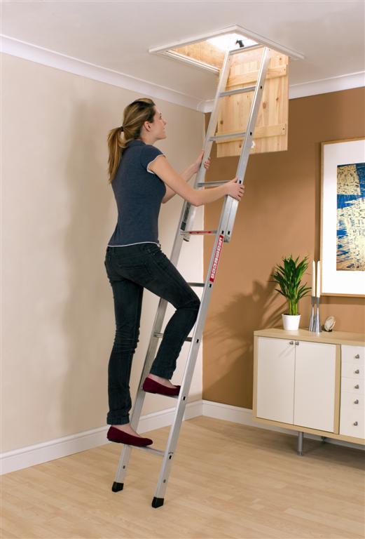 attic or loft ladder