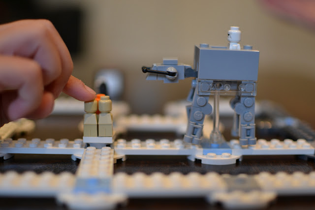 Here comes the AT-AT in Star Wars: Battle of Hoth