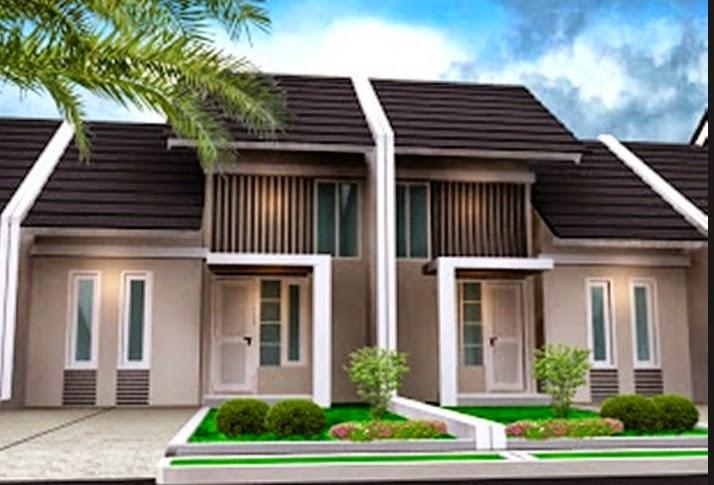 contoh model rumah modern type 45 gambar rumah minimalis