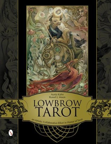 Lowbrow Tarot ไพ่ทาโร่ ไพ่ทาโรต์ tarot card book illustration หนังสือภาพ ไพ่พยากรณ์ Low Brow Tarot Schiffer Books