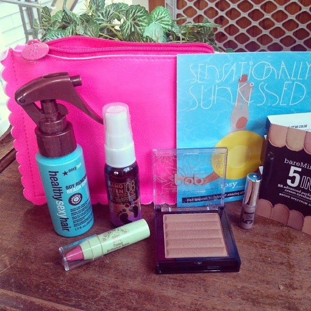 July Ipsy Glam Bag Review - Sensationally Sunkissed