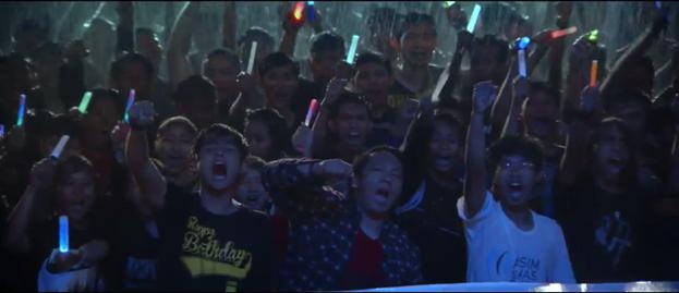 Viva JKT48 Adegan Hujan