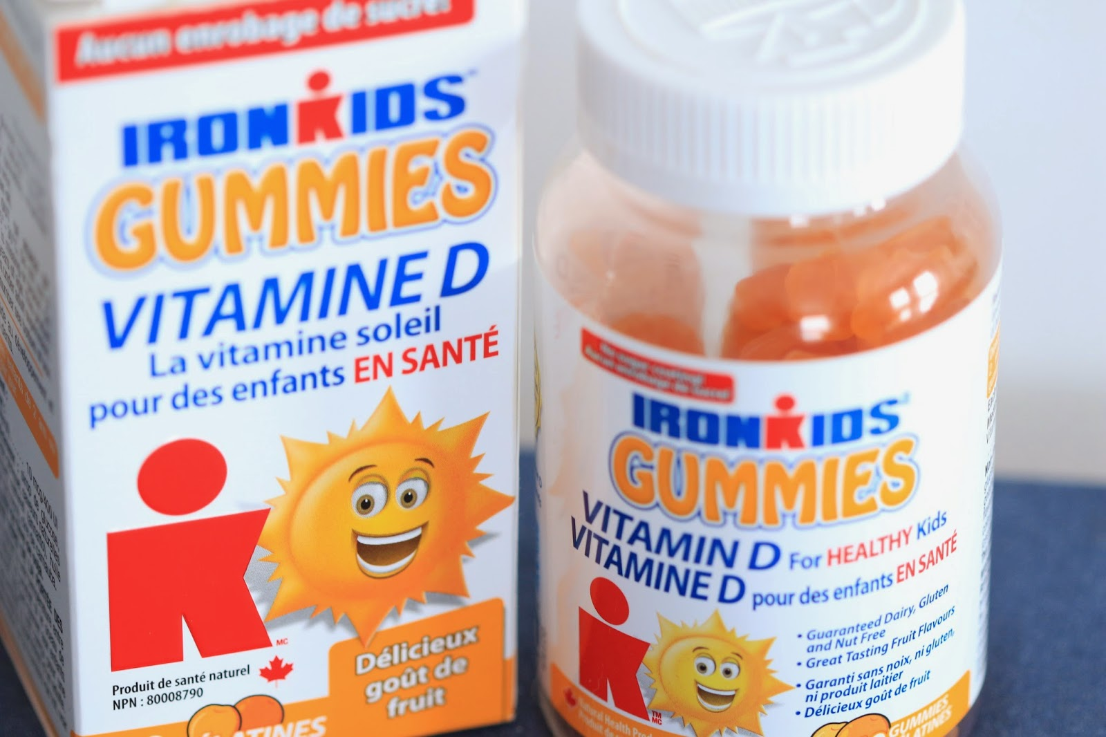 ironkids gummies with vitamin d