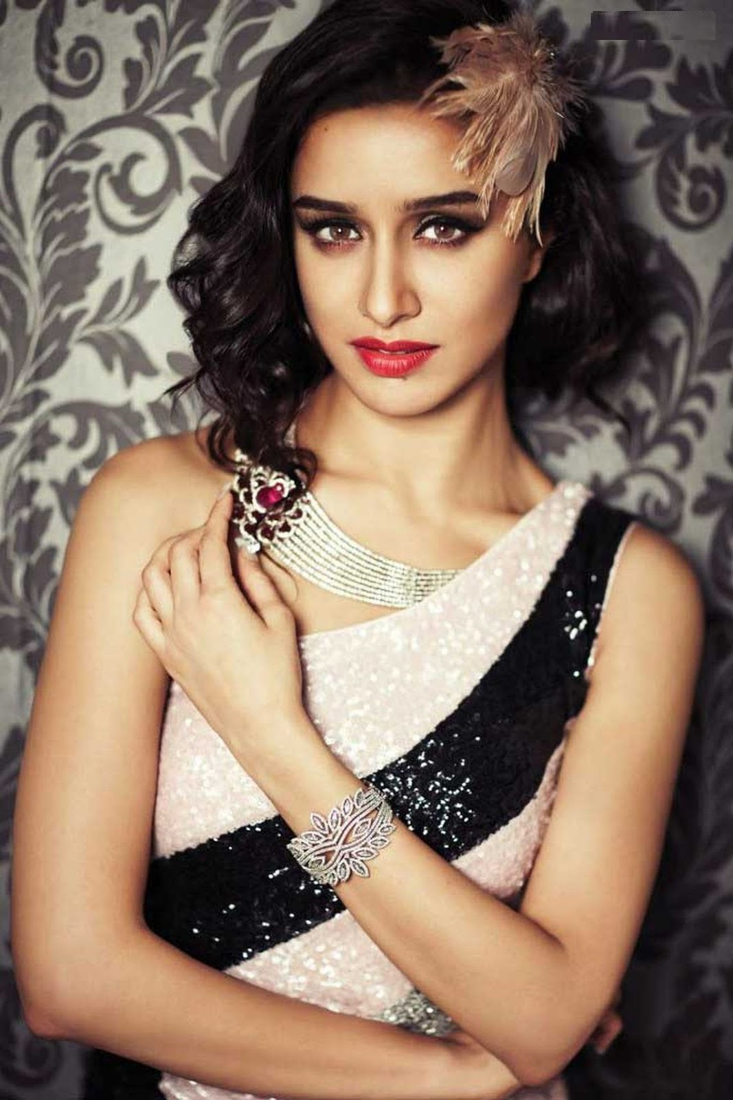 Shraddha Kapoor Stunning Photo Shoot For Hi! Blitz Magazine