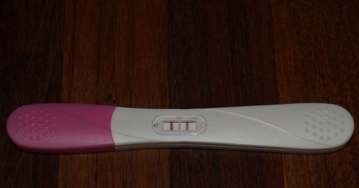 Graviditetstest meget svag positiv Meget svag