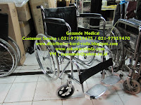 folding wheelchair bagus