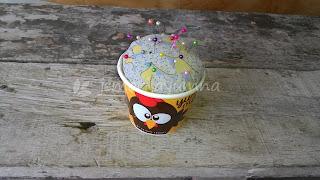 Tutorial Membuat Pincushion dari Paper Cup Bekas