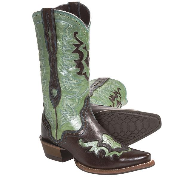 Cowboy Boots Teal2