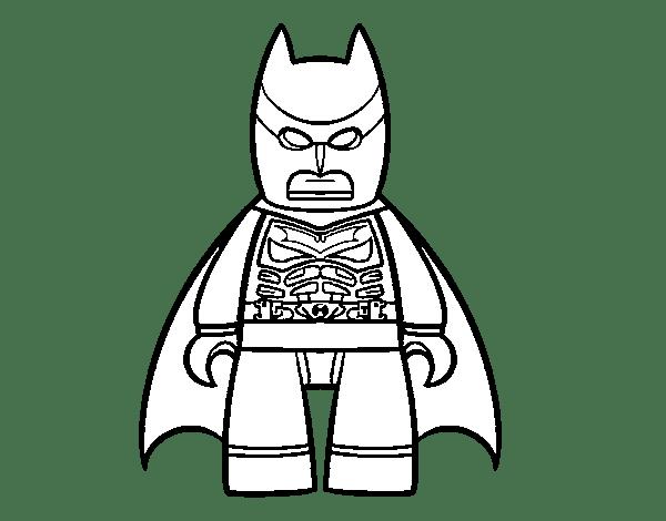 Dibujos Para Colorear De LEGO Batman