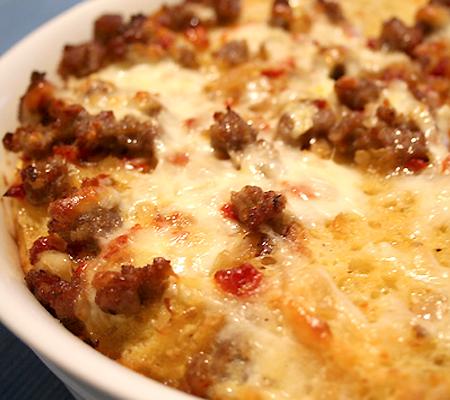 easy sausage strata recipes