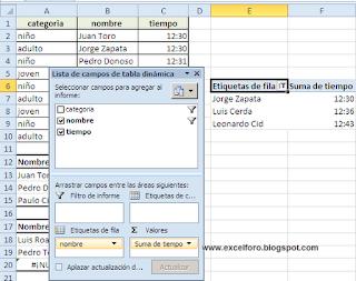 Cómo construir rangos con fórmulas matriciales en Excel.