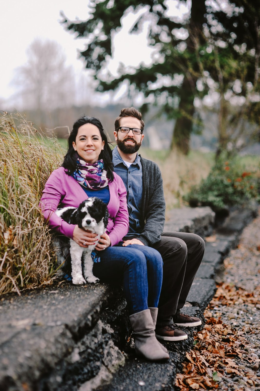 Seattle Engagement Photo Shoot - Seward Park