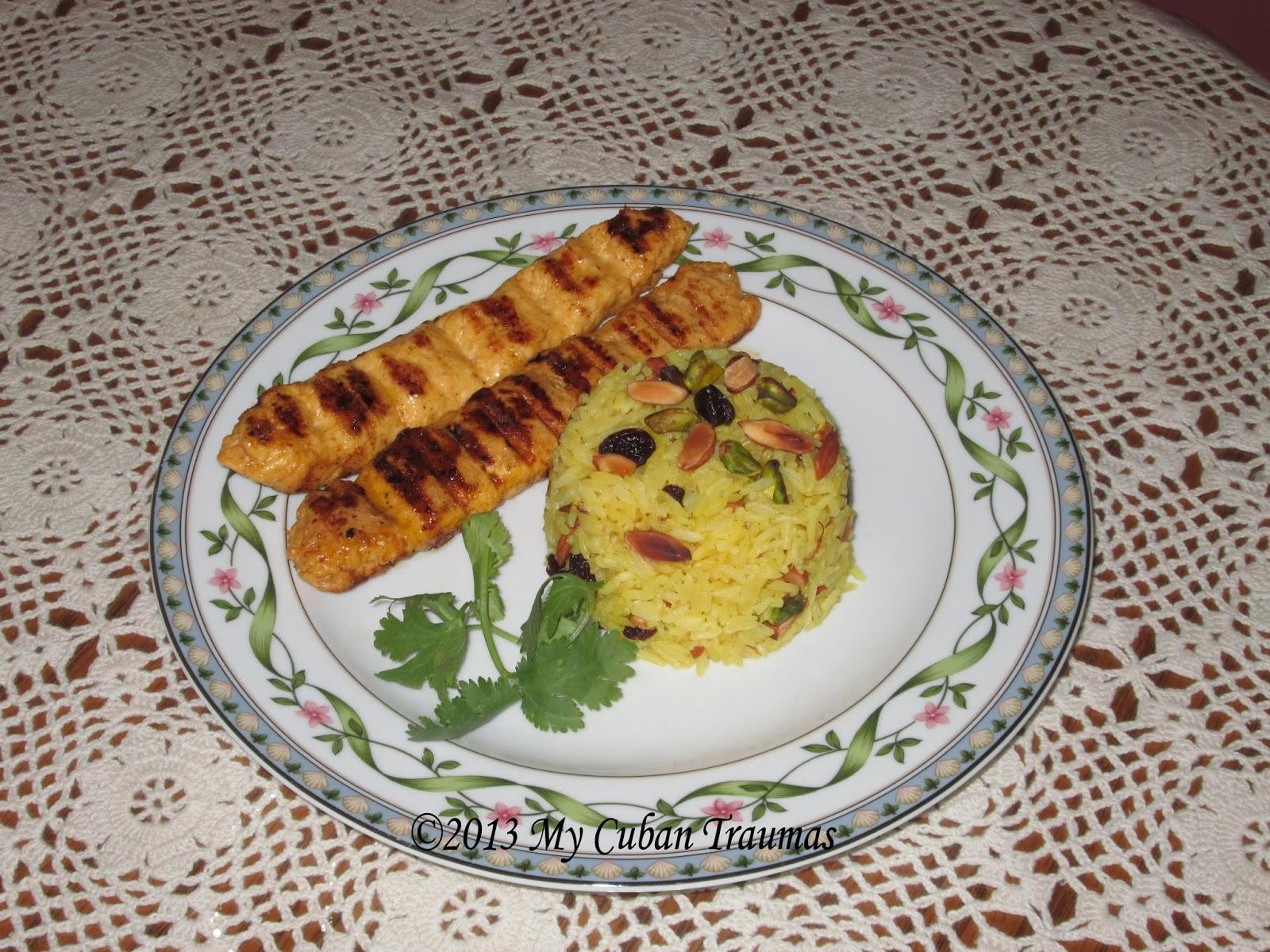 My cuban traumas agosto 2013 for Azafran cuban cuisine
