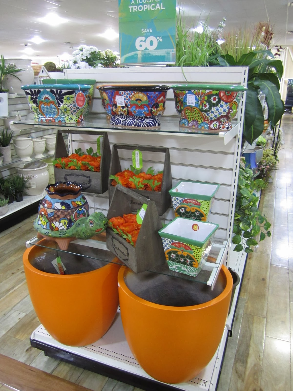 TJMaxx Homegoods Heaven  Garden Stools  Planters and Decor for Spring  plus  the African Bazaar is back. Inspire Bohemia  TJMaxx Homegoods Heaven  Garden Stools  Planters