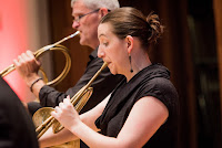 Opera Settecento  - Pergolesi's Adriano in Siria - Horn players Anneke Scott, Martin Lawrence