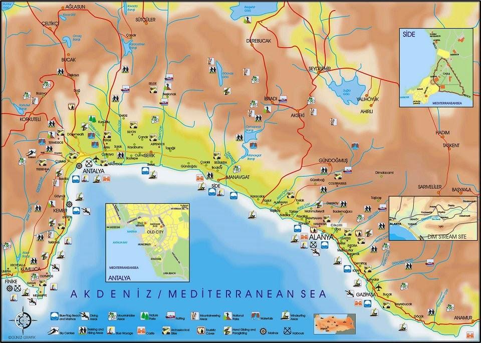 Antalya'da 365 gün