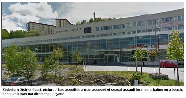 Public Masturbation Legal In Sweden