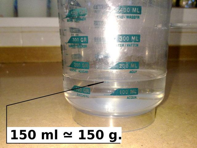 C mo hacer una balanza de emergencia for Que es agua destilada