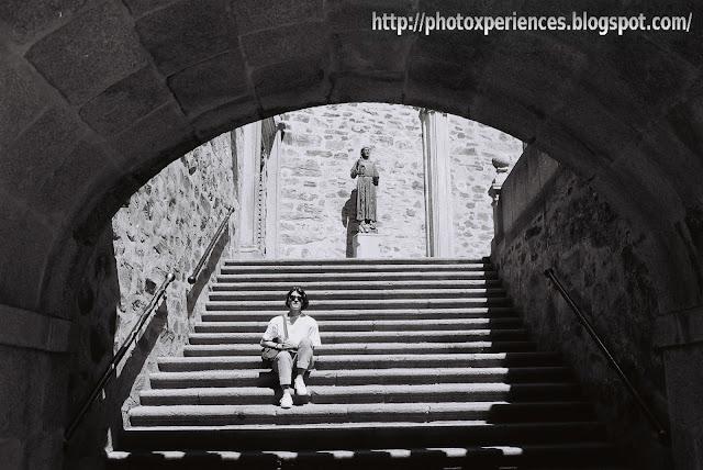 Escalera de acceso a la basílica - Stairway to the basilica