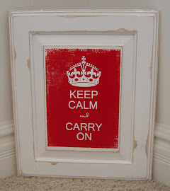 Keep Calm &amp; Carry On Sign (SOLD)