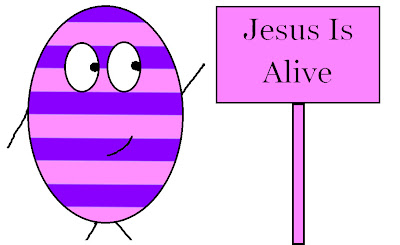 Church house collection blog easter crafts for sunday for Jesus is alive craft ideas