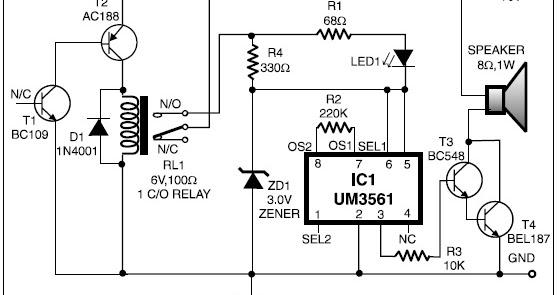 automatic heat detector