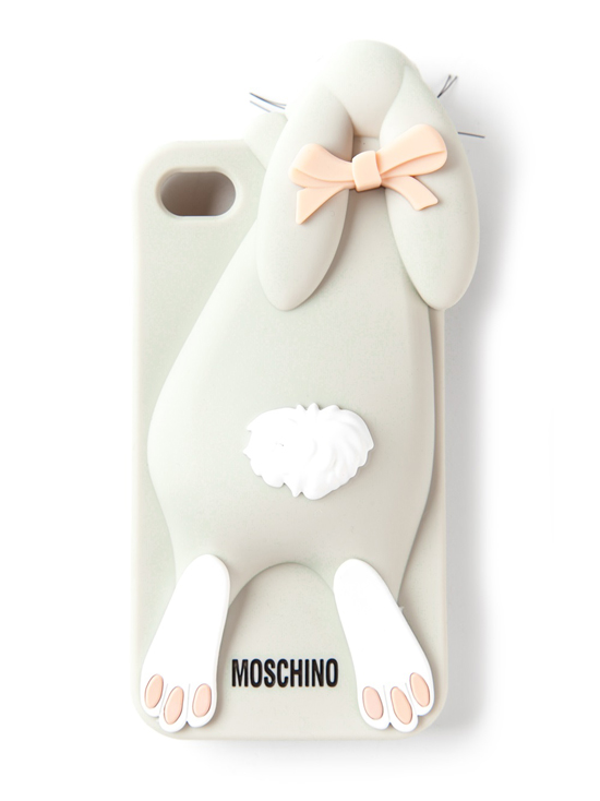 Moschino Violetta rabbit bunny iphone cover