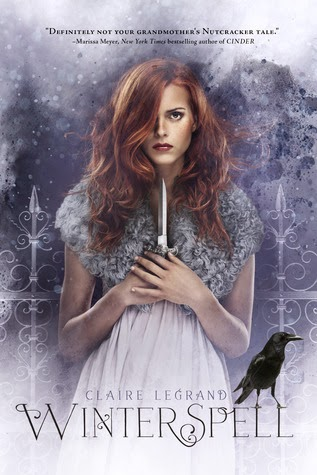 winterspell by claire legrand book cover