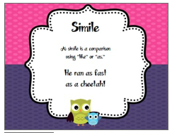 http://www.teacherspayteachers.com/Product/Figurative-Language-OWL-Theme-Posters-503955