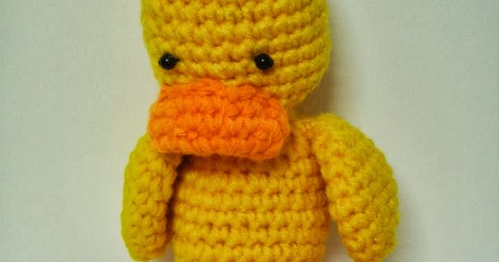 Amigurumi Duck ~ Free Crochet Patterns