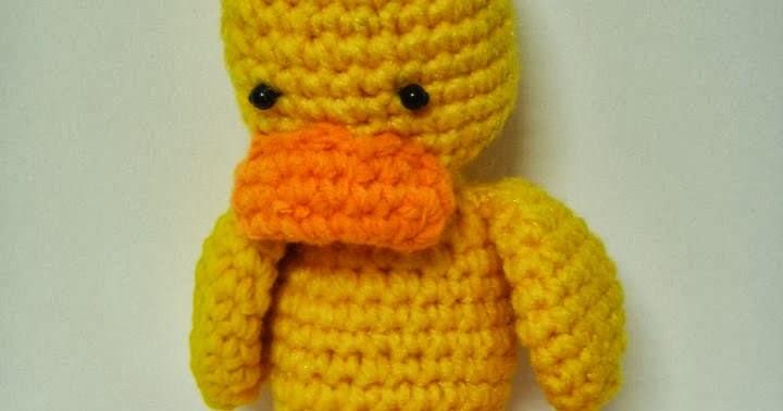 Free Crochet Pattern Duck Booties : Amigurumi Duck ~ Free Crochet Patterns