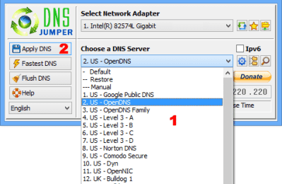 Download DNS Jumper Terbaru 1.0.6 Gratis