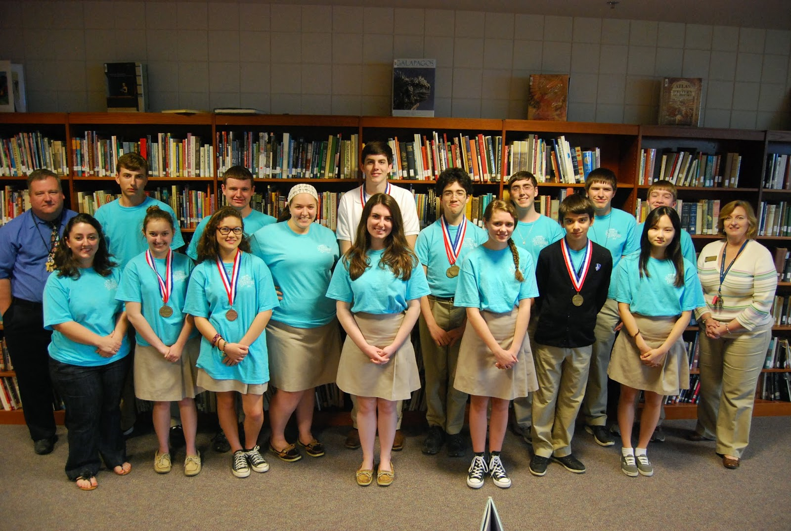 Montgomery Catholic Finishes in Top Ten at State Science Olympiad 1
