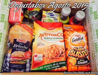 Degustabox agosto 2015