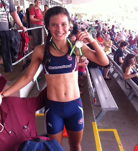 Jessee Santo places 2nd in Australian Athletics Championships.