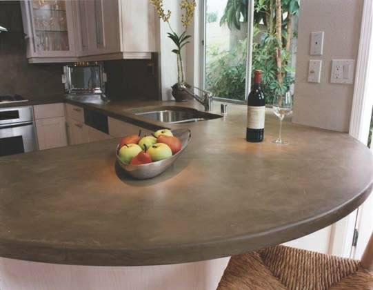 Concrete Countertops : How much do concrete counters cost?