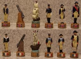 england vs france chess set