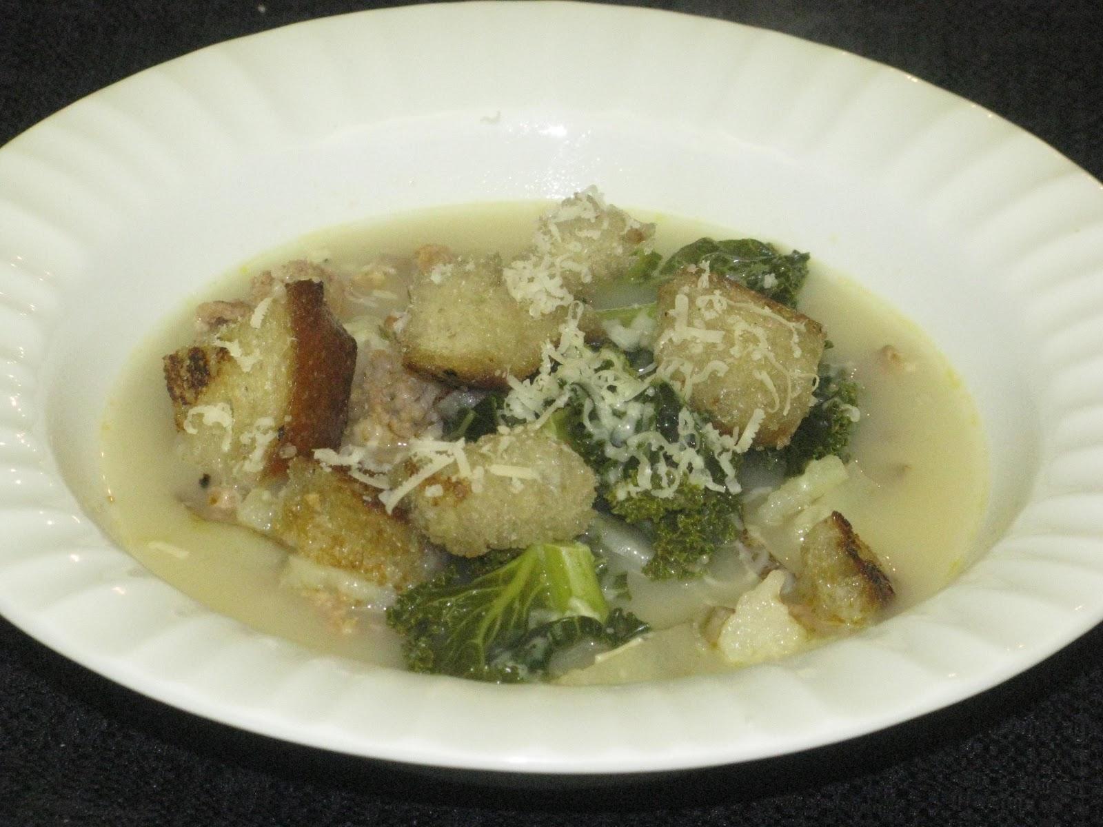Shamrocks and Shenanigans: Zuppa Toscana Soup