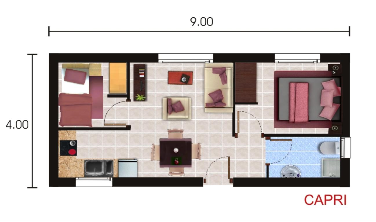 Casas Prefabricadas y Modulares: Planos Standard