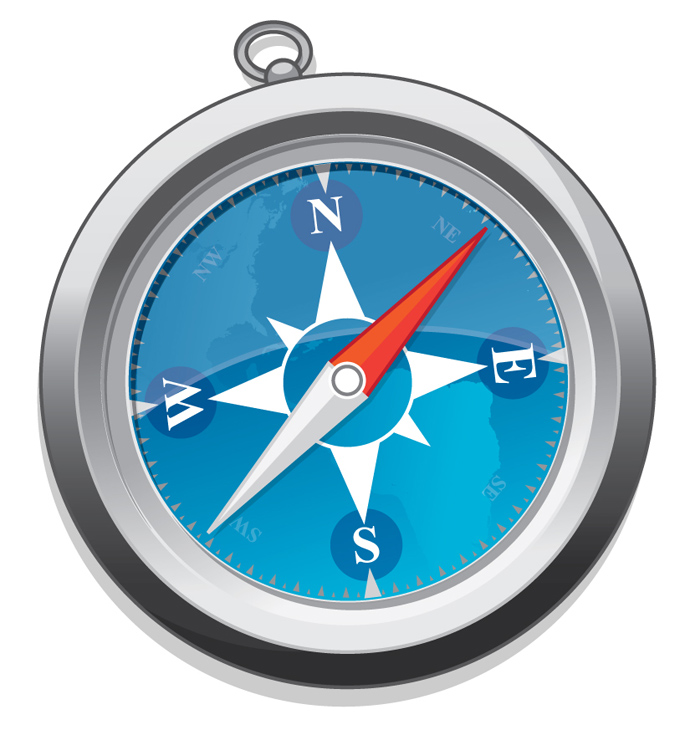 のアイコン Vector logo of popular web browser – safari