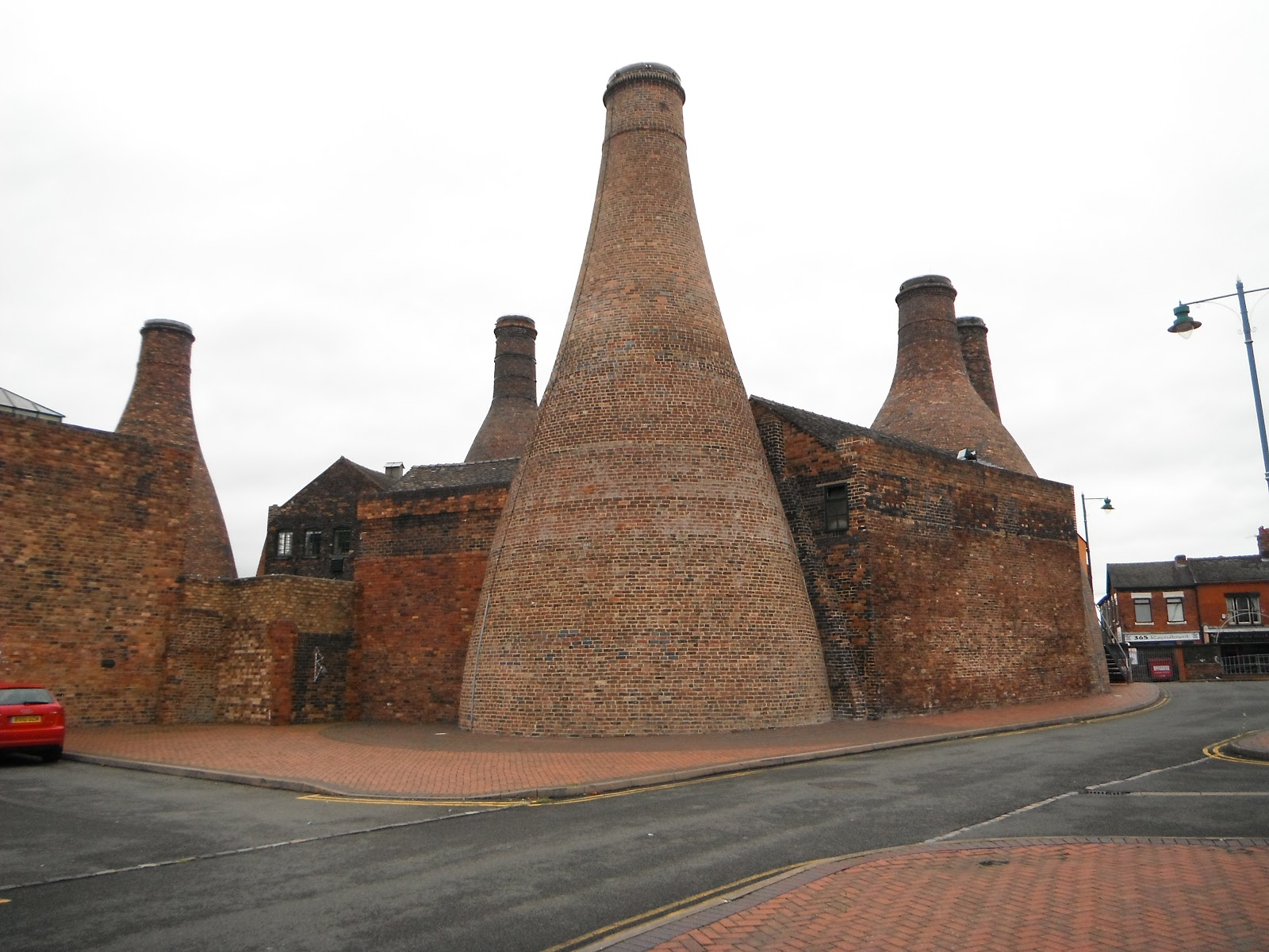 Bottle ovens at the Gladstone Pottery Works