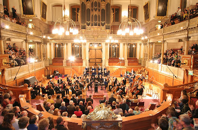 Marios Papadopoulos and Oxford Philharmonic Orchestra at the Sheldonian, © Chris Gloag