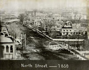 North Street Pittsfield Massachusetts 1850