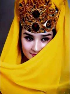 Gadis Uyghur