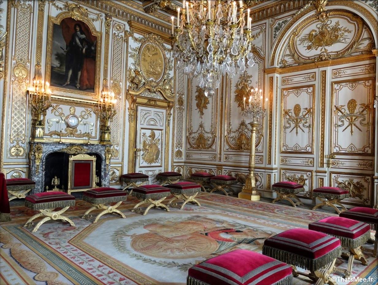 salle du trone Roi Chateau de Fontainebleau Napoleon François Ier Renaissance Seine-et-Marne 77 tourisme