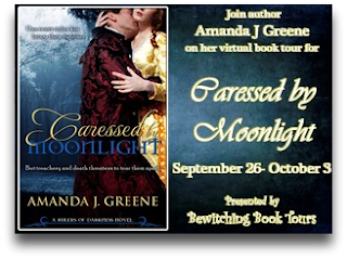 Caressed by Moonlight Virtual Book Tour: Guest Post with Amanda J. Greene