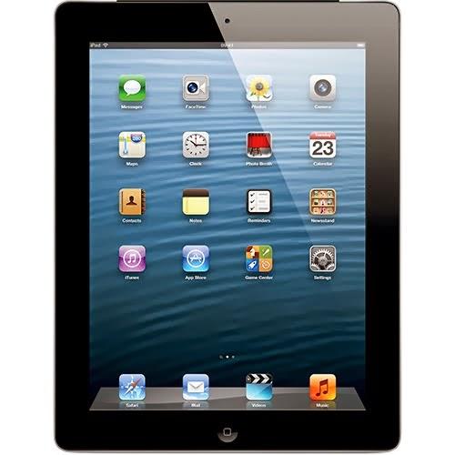 iPad com tela Retina (4ª Geração) 16GB 3G e Wi-Fi Preto - Apple