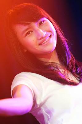 Frieska foto premium content JKT48 clock
